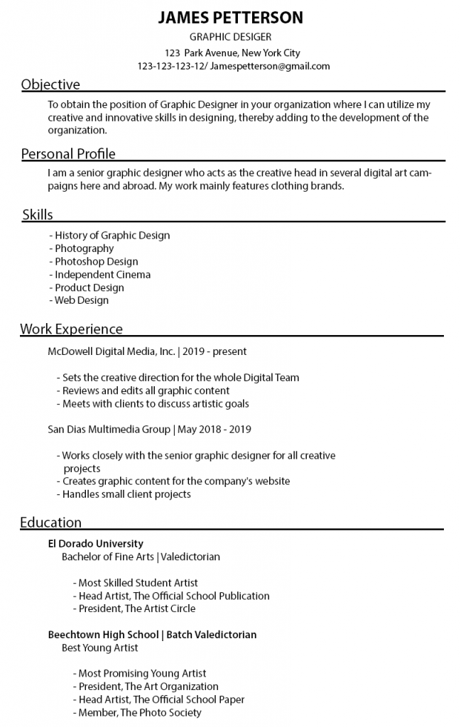 best resume format and styling tips guide