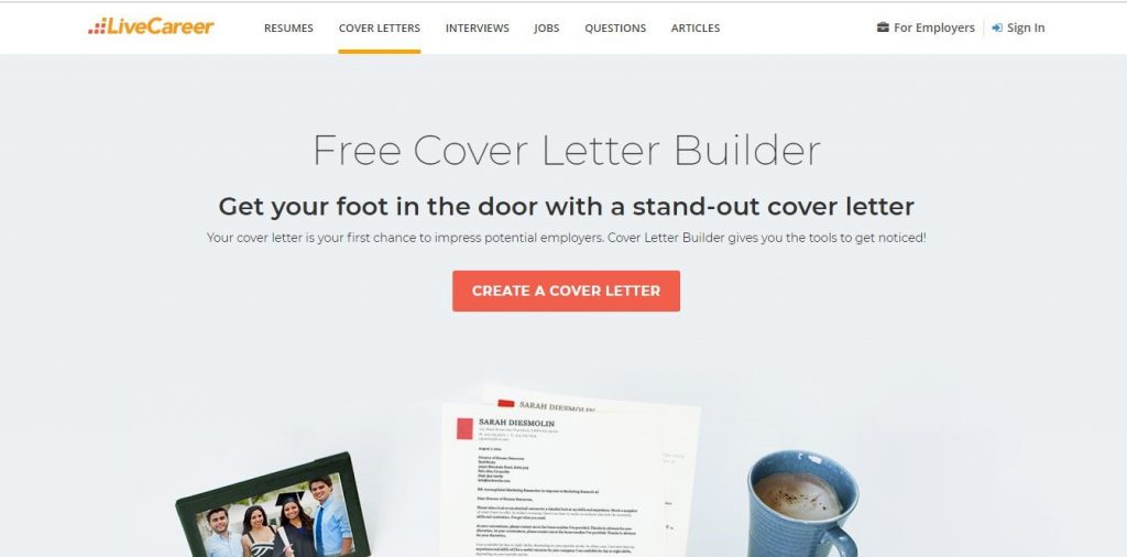 Top 5 Online Cover Letter creators and their reviews | Rezrunner